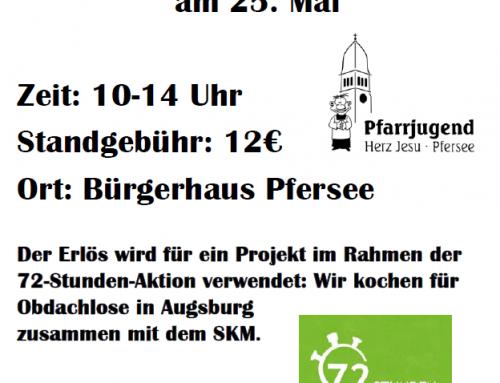 Flohmarkt im Bürgerhaus (72h-Aktion)