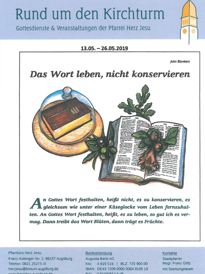 Rund Um Den Kirchturm 13.05. 26.05