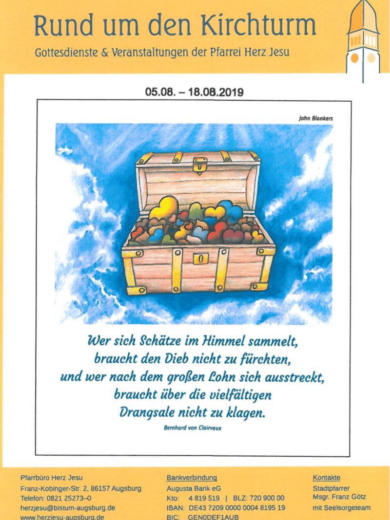 Rund Um Den Kirchturm 05.08. 18.08