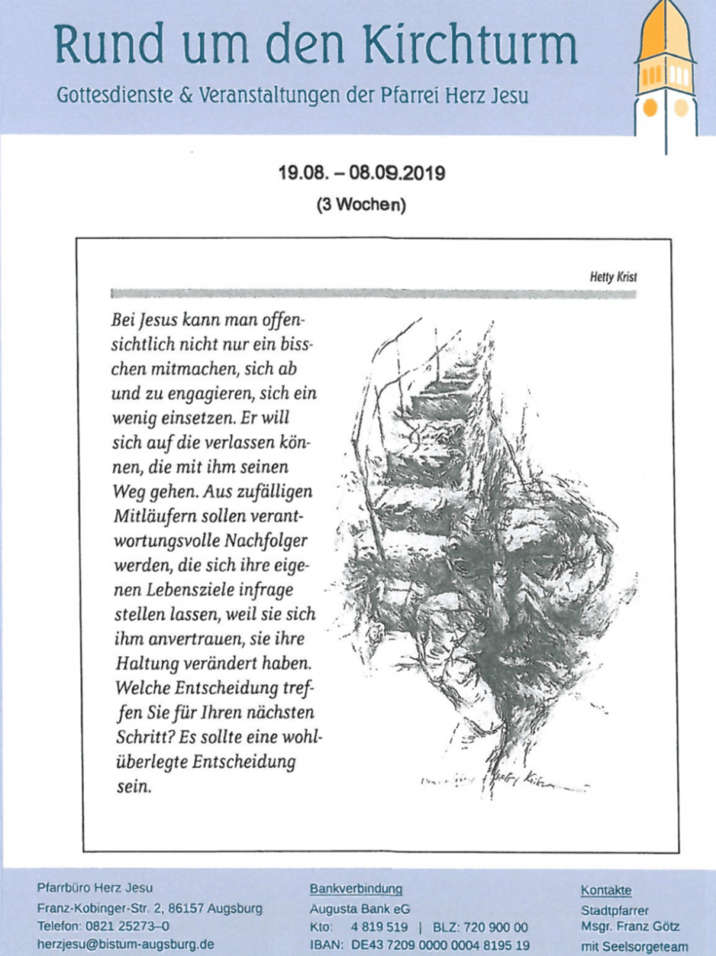 Rund Um Den Kirchturm 19.08. 08.09
