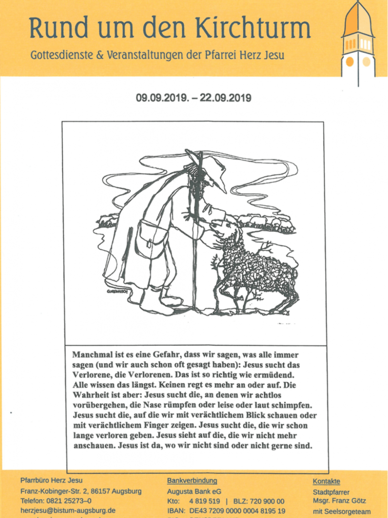 Rund Um Den Kirchturm 09.09. 22.09