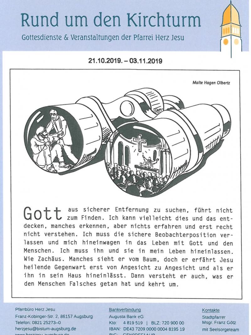 Rund Um Den Kirchturm 21.10. 03.11