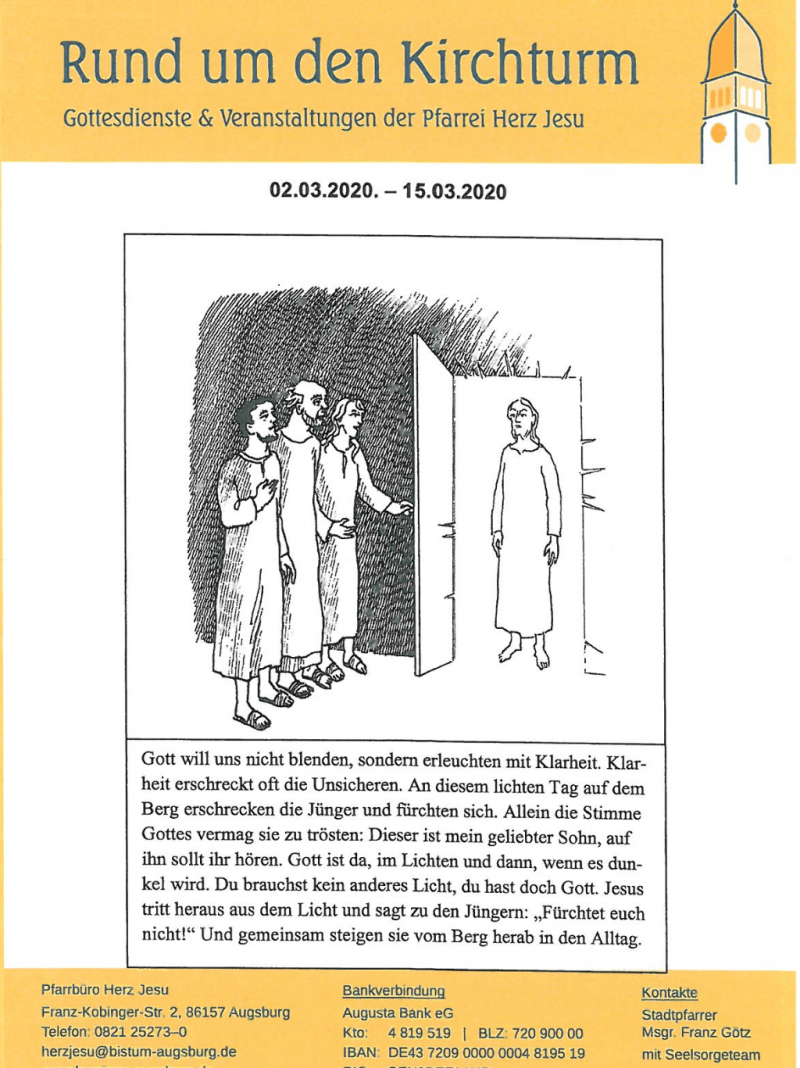 Rund Um Den Kirchturm 02.03. 15.03