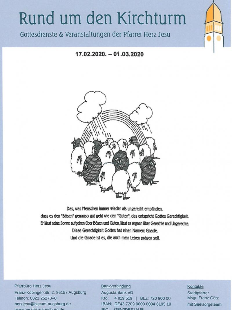 Rund Um Den Kirchturm 17.02. 01.03