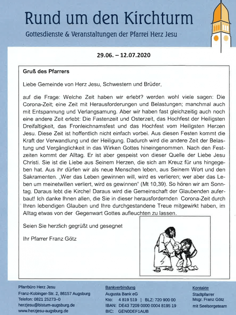 Rund Um Den Kirchturm 29.06. 1207.