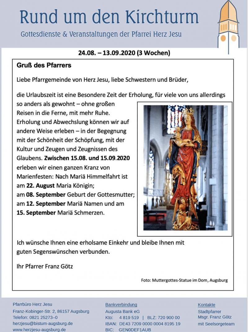 Rund Um Den Kirchturm 24.08 13.09