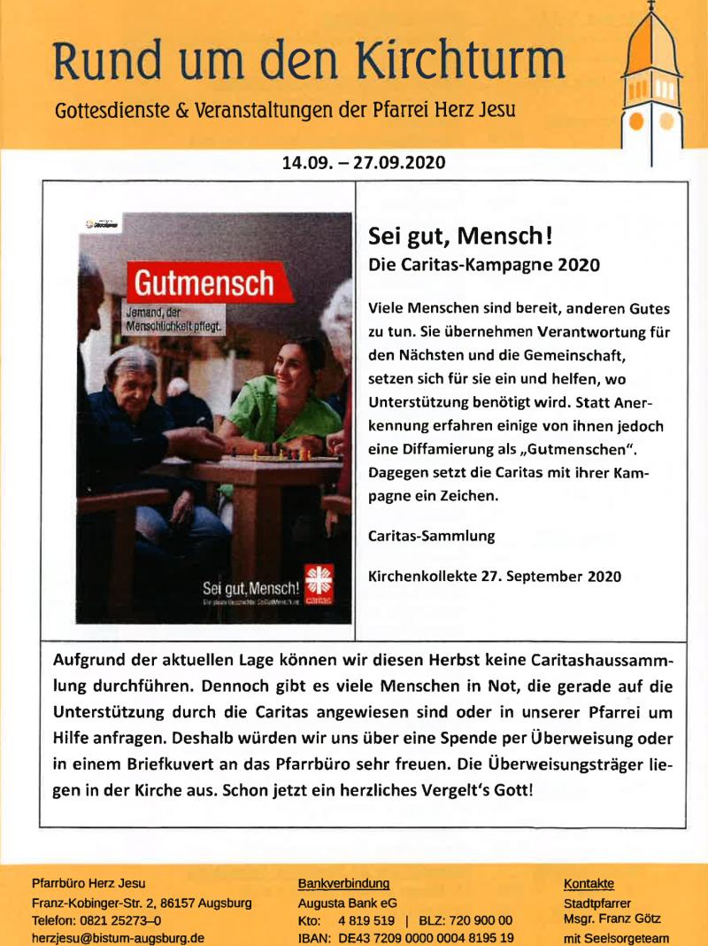 Rund Um Den Kirchturm 14.09. 27.09