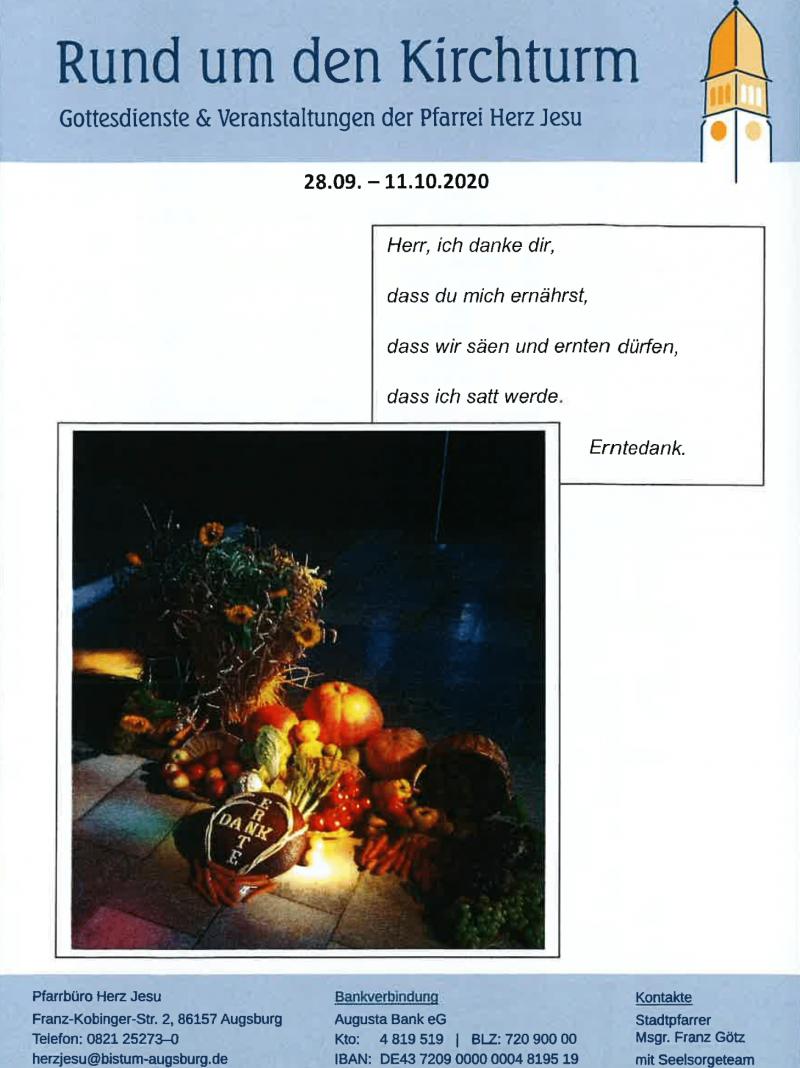 Rund Um Den Kirchturm 28.09. 11.10.