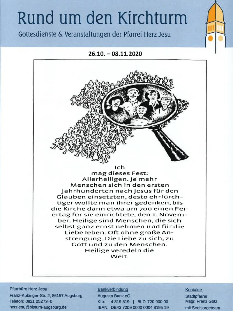 Rund Um Den Kirchturm 26.10. .09.11.