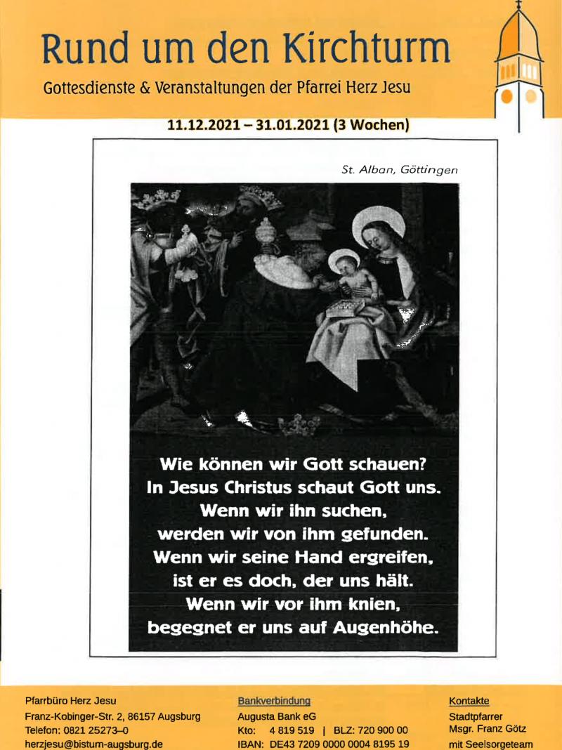 Rund Um Den Kirchturm 11.01. 31.01.