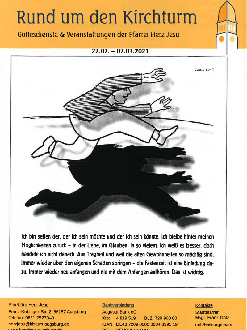 Rund Um Den Kirchturm 22.02. 07.03.