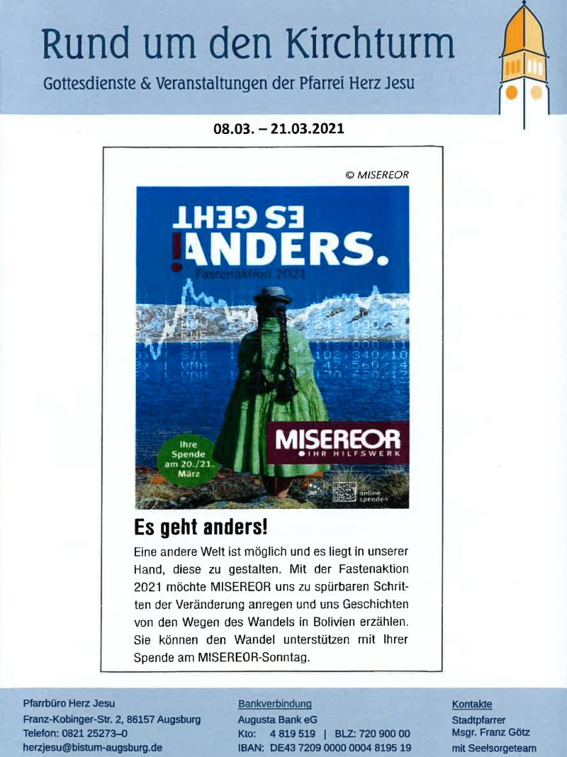 Rund Um Den Kirchturm 08.03. 28.03.