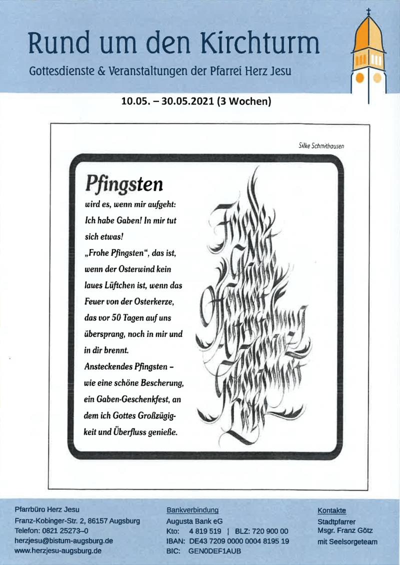 Rund Um Den Kirchturm 10.05. 30.05.