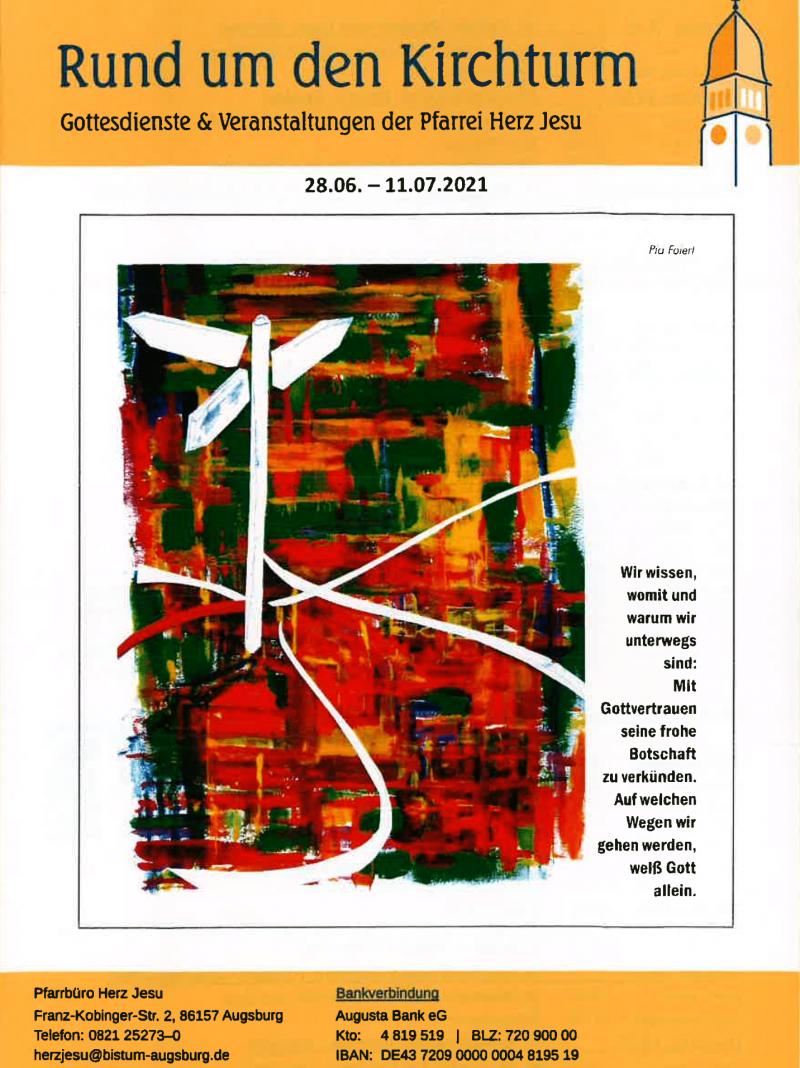 Rund Um Den Kirchturm 28.06. 11.07
