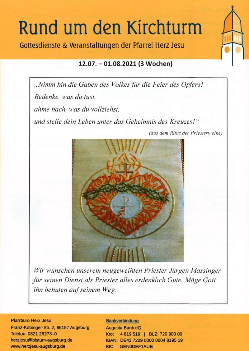 Rund Um Den Kirchturm 12.07. 01.08