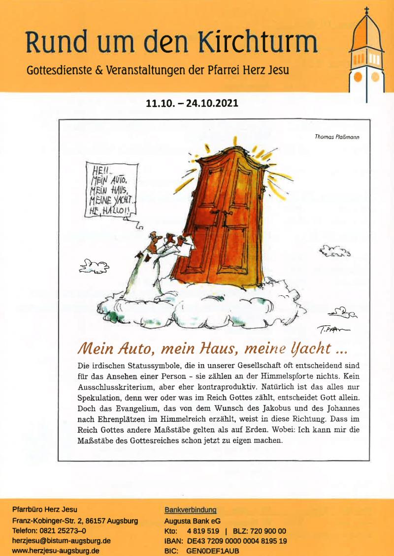 Rund Um Den Kirchturm 11.10. 24.10